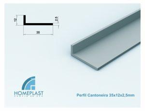 PERFIL CANTONEIRA 35x12x2,5mm - Cod.092