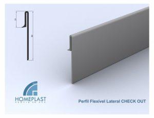 PERFIL FLEXÍVEL LATERAL CHECK OUT - Cod.512