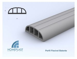 PERFIL FLEXIVEL BATENTE - Cod.511