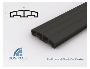 PERFIL LATERAL CHECK OUT FLEXIVEL - Cod.505