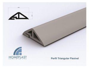 PERFIL TRIANGULAR FLEXÍVEL - Cod.513