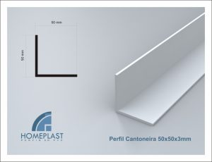 PERFIL CANTONEIRA 50x50x3mm - Cod.010