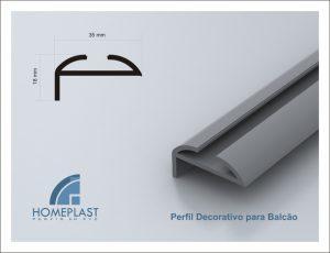 PERFIL DECORATIVO PARA BALCÃO - Cod.038