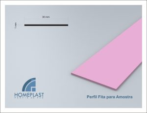 PERFIL FITA PARA AMOSTRA - Cod.019