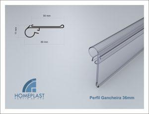 PERFIL GANCHEIRA 36MM - Cod.020