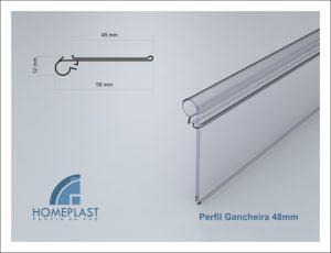 PERFIL GANCHEIRA 48MM - Cod.012